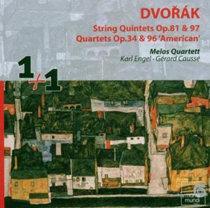 Dvorák String Quintets and Quartets
