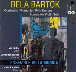 Béla Bartók: Sonata for Solo Violin, Contrasts, Romanian Folk Dances