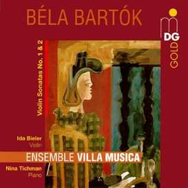 Béla Bartók: Violin Sonatas Nos. 1 & 2