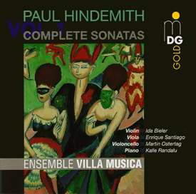 Paul Hindemith, Vol. 1