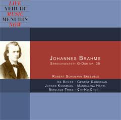 Johannes Brahms: Streichkonzert G-Dur op. 36